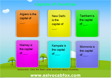 Country Capitals 1