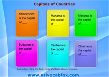 Country Capitals 4