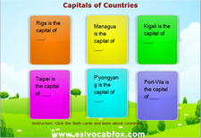 Country Capitals 5
