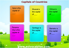 Country Capitals 6