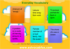 Everyday Vocabulary 1