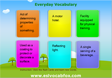 Everyday Vocabulary 2
