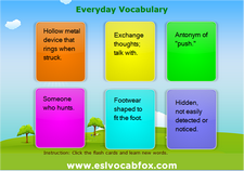 Everyday Vocabulary 3
