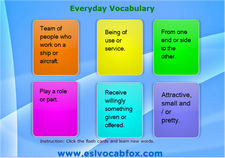 Everyday Vocabulary 5
