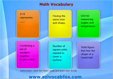 Math Vocabulary 1
