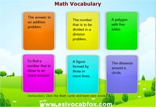 Math Vocabulary 2
