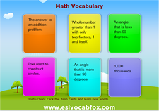 Math Vocabulary 3
