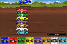 Domestic Animals Rally Race Game
