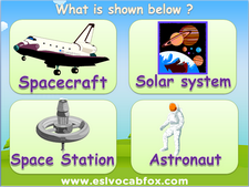 Astronomy and Solar System, ESL PPT, English Language Vocabulary PowerPoint.