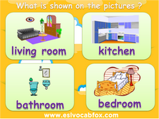 Household items vocabulary PPT, English language vocabulary PowerPoint.