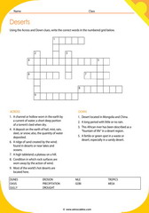 Desert Crosswords 1