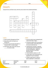 Desert Crosswords 2
