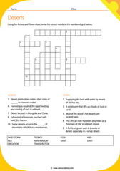 Desert Crosswords 3