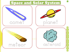 Astronomy and Space vocabulary