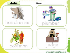 Professions vocabulary