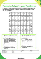 Word Search Worksheets to enhance vocabulary!