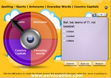 Sports, Antonyms, Everyday Words