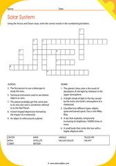Solar System Crossword 7