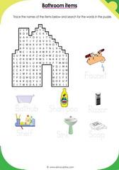 Bathroom Vocabulary 1