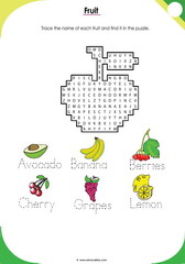 Fruits Puzzle 1