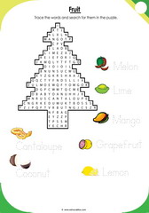 Fruits Puzzle 2