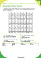 Geographic Records Crossword 1