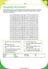 Geographic Records Crossword 2