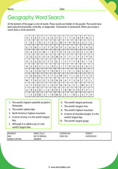 Geographic Records Crossword 3