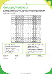 Geographic Records Crossword 4