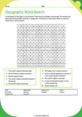 Geographic Records Crossword 5